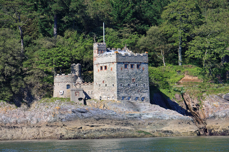 Castelo de Kingswear fotos de stock