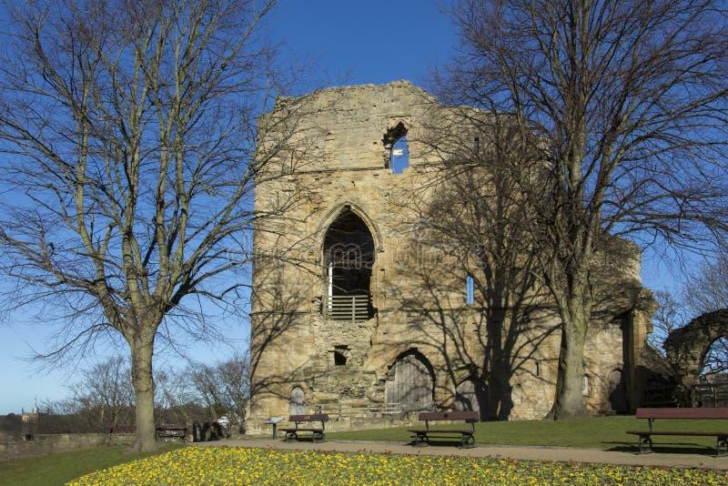 Castelo de Knearsborough - North Yorkshire - Reino Unido foto de stock royalty free