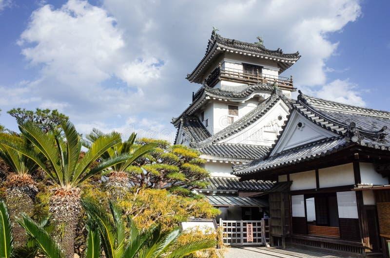 Castelo de Kochi na prefeitura de Kochi, Japão imagem de stock royalty free