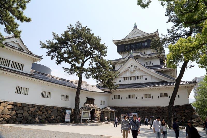 Castelo de Kokura imagens de stock royalty free
