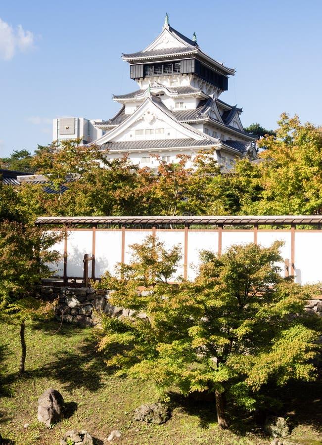 Castelo de Kokura imagem de stock