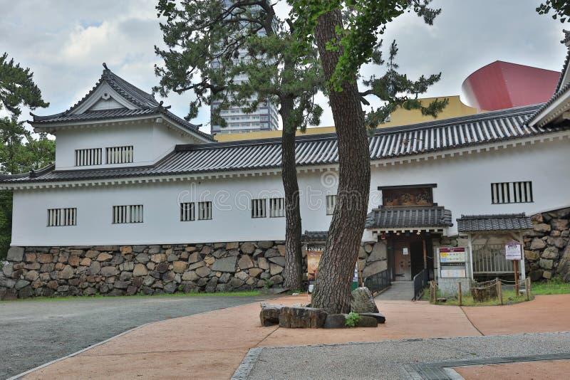 Castelo de Kokura-jo, castelo japonês fotos de stock