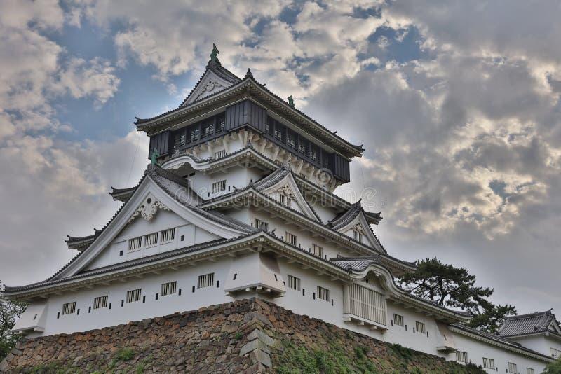 Castelo de Kokura-jo, parque público de Katsuyama fotografia de stock royalty free