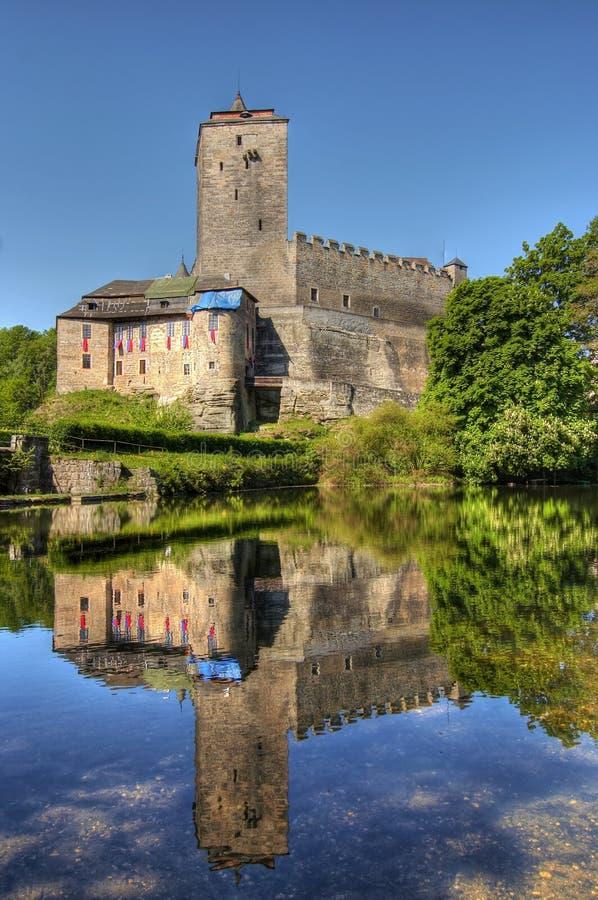 Castelo de Kost fotografia de stock royalty free