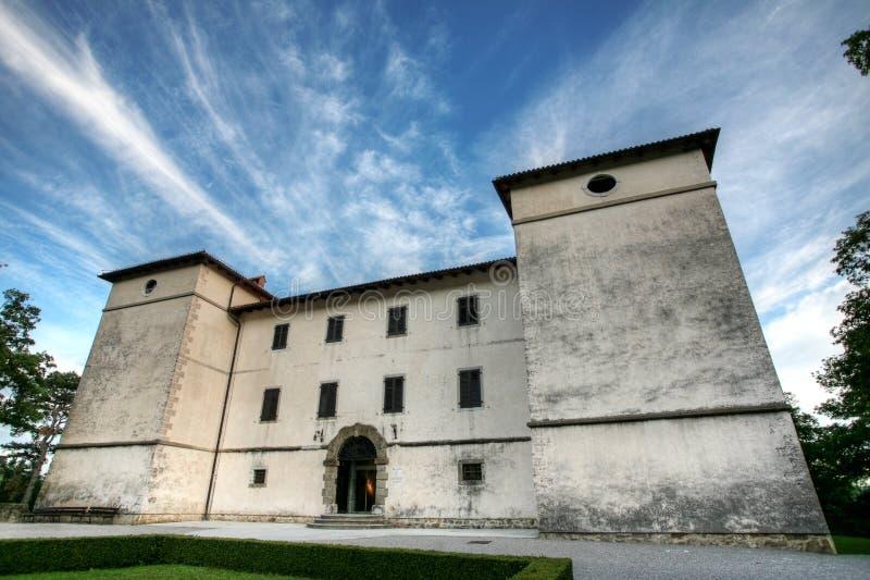 Castelo de Kromberk imagem de stock