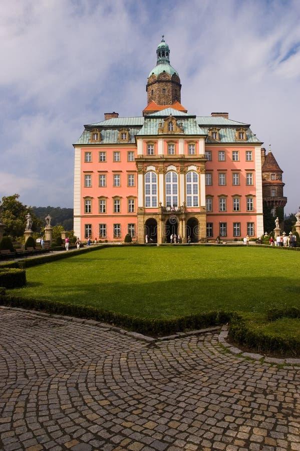 Castelo de Ksiaz em Poland fotografia de stock royalty free