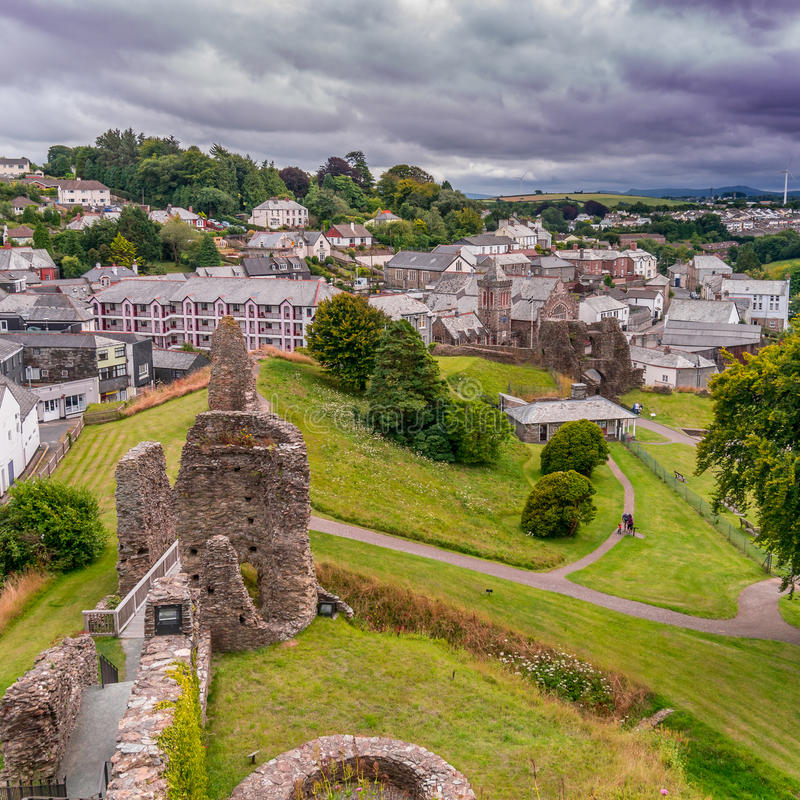 Castelo de Launceston imagem de stock royalty free