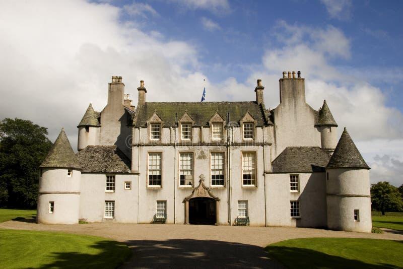 Castelo de Leith Salão, Scotland fotografia de stock royalty free