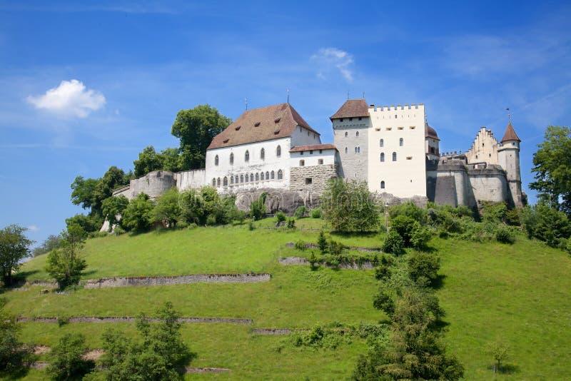 Castelo de Lenzburg fotos de stock royalty free