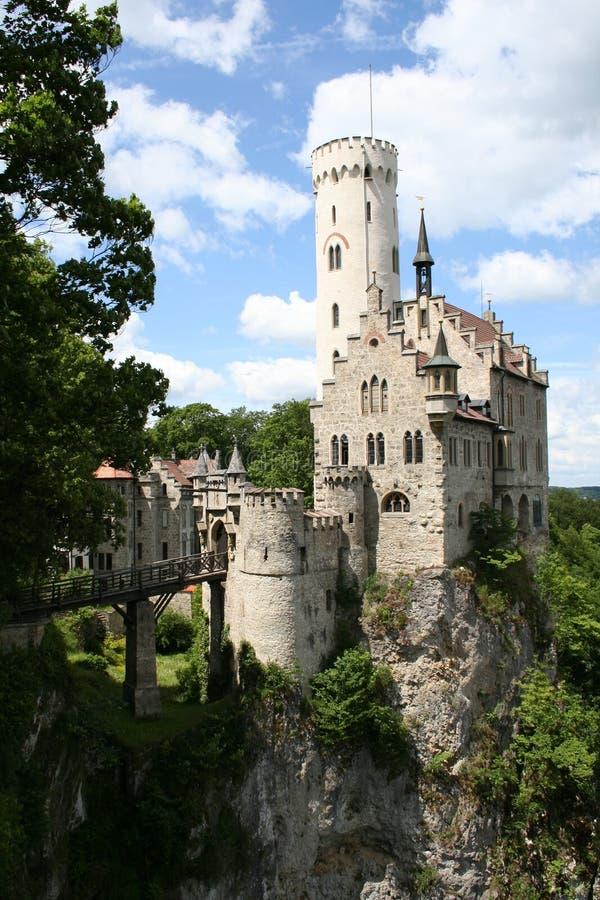 Castelo de Lichtenstein fotografia de stock