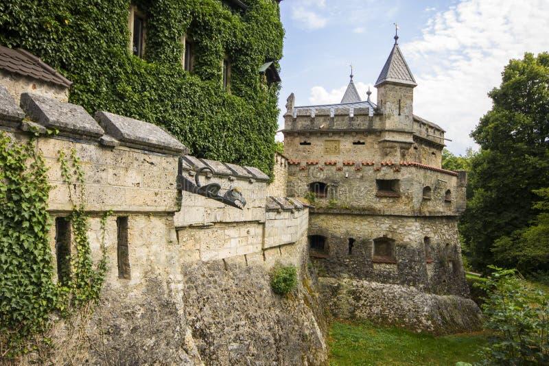 Castelo de Lichtenstein, Alemanha fotos de stock royalty free