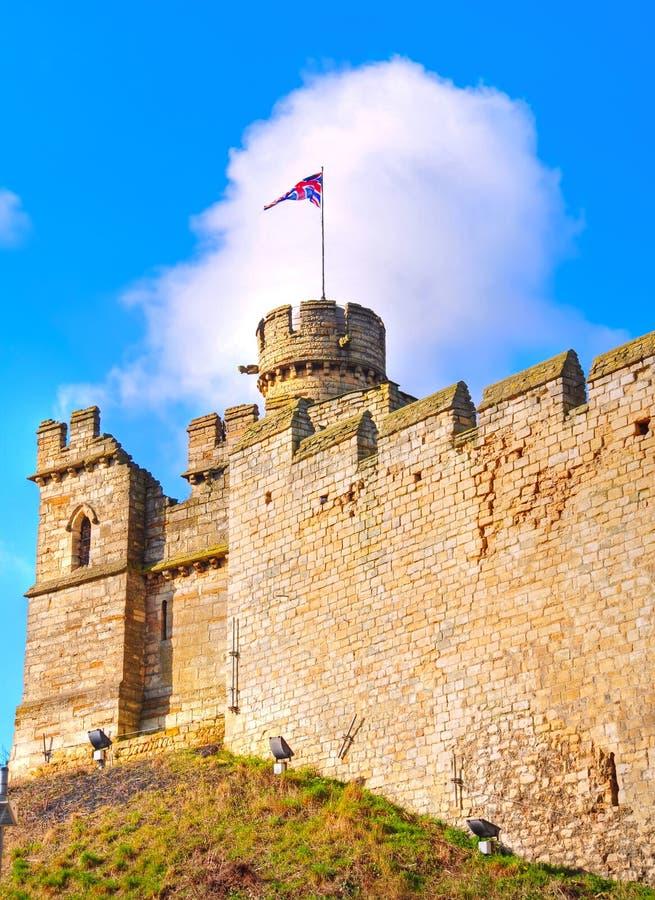 Castelo de Lincoln imagens de stock royalty free