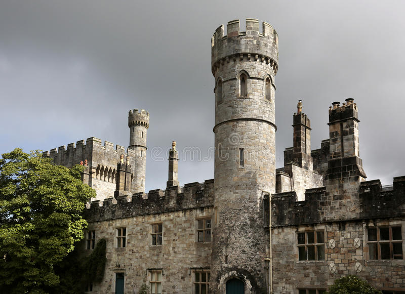 Castelo de Lismore, Co Waterford, Irlanda imagens de stock royalty free