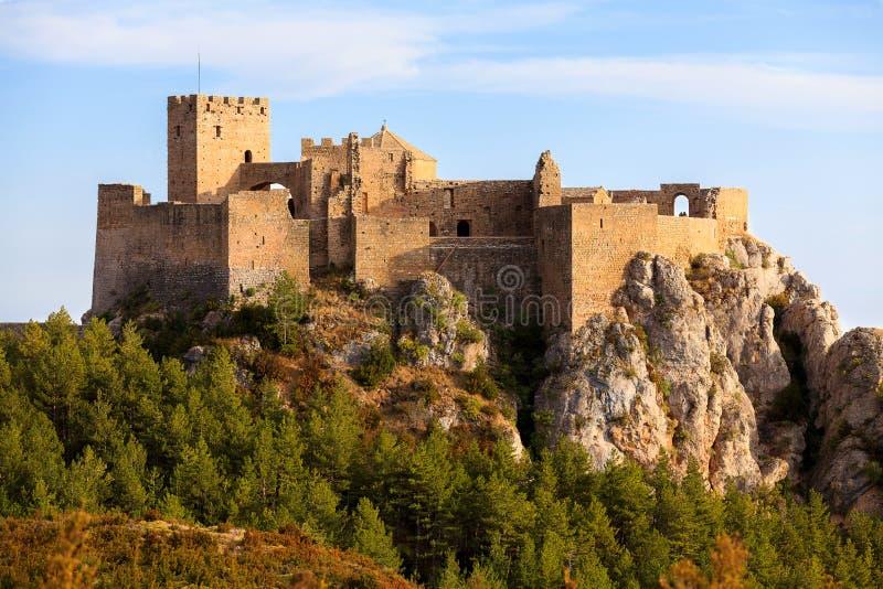 Castelo de Loarre, Spain imagens de stock