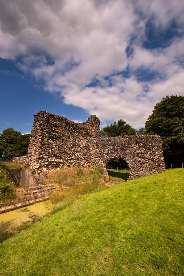 Castelo de Lochmaben, Dumfries e Galloway, Escócia foto de stock