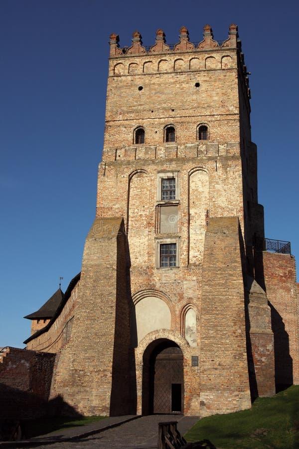 Castelo de Lubert em Lutsk imagem de stock royalty free