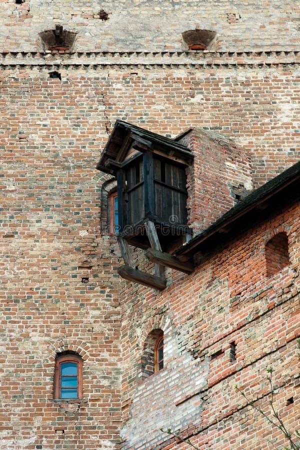 Castelo de Lubert em Lutsk imagem de stock