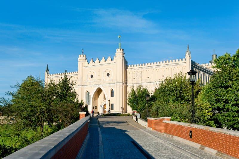 Castelo de Lublin fotografia de stock royalty free