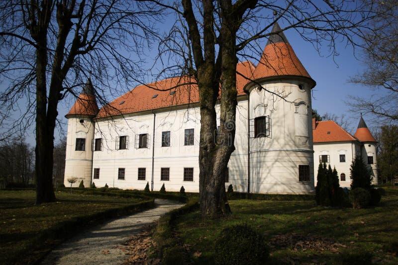 Castelo de Luznica imagem de stock royalty free