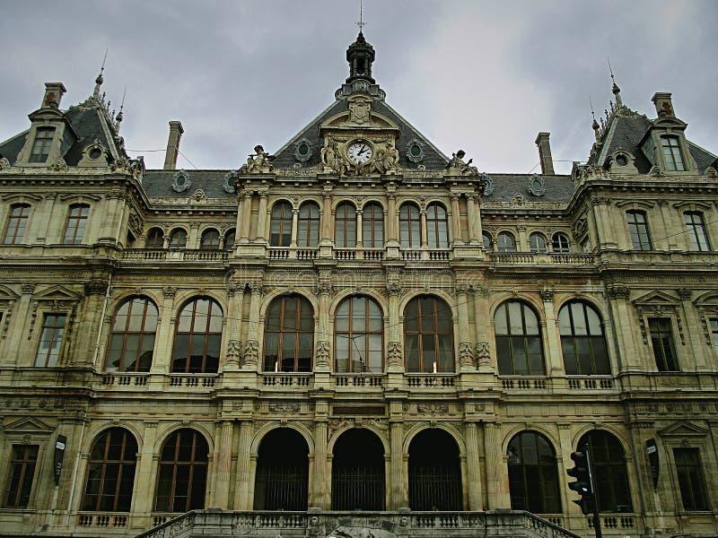 Castelo de Lyon foto de stock