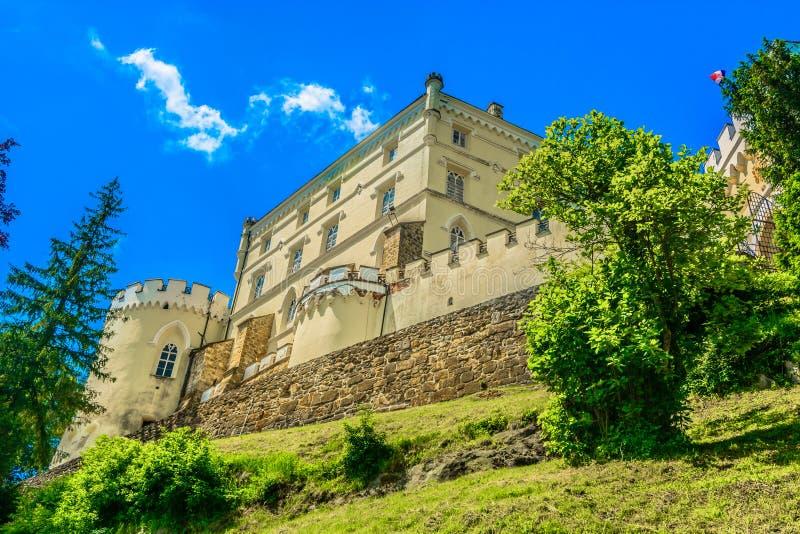 Castelo de mármore em Zagorje, Trakoscan imagem de stock