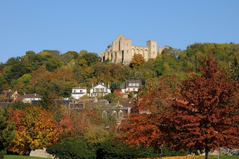 Castelo de Madeleine do La em Chevreuse imagem de stock royalty free