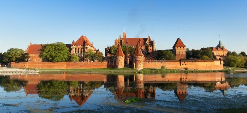 Castelo de Malbork fotos de stock royalty free