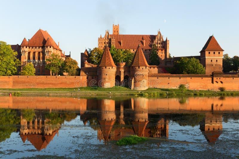 Castelo de Malbork imagens de stock royalty free