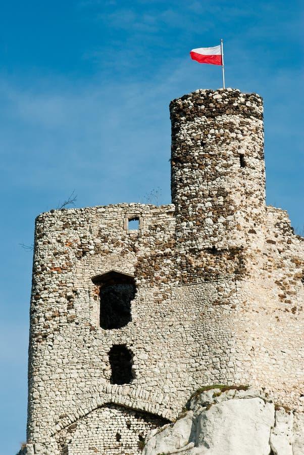 Castelo de Mirow fotografia de stock royalty free