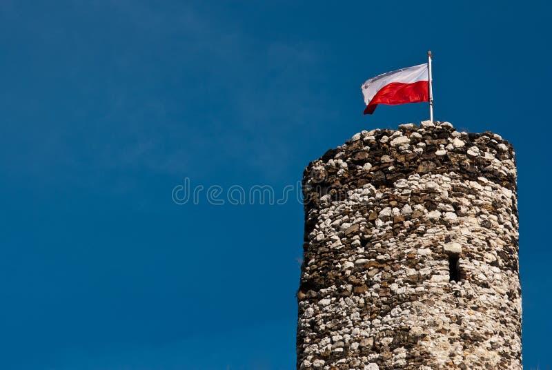 Castelo de Mirow fotos de stock royalty free