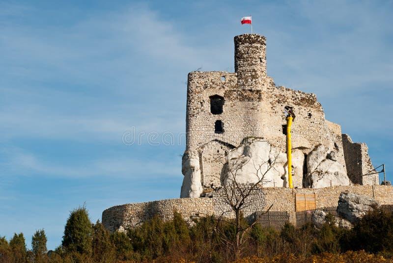 Castelo de Mirow imagem de stock