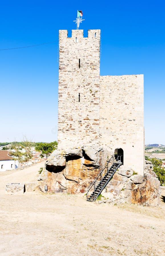 Castelo de Mogadouro imagem de stock royalty free