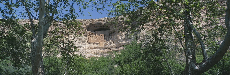 Castelo de Montezuma, o Arizona imagem de stock royalty free