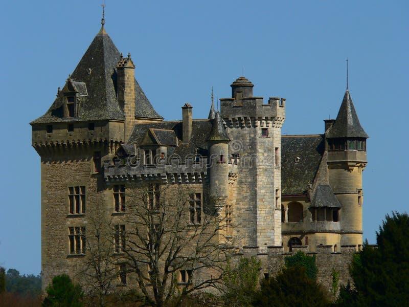 Castelo de Montfort, Dordogne (France) foto de stock royalty free