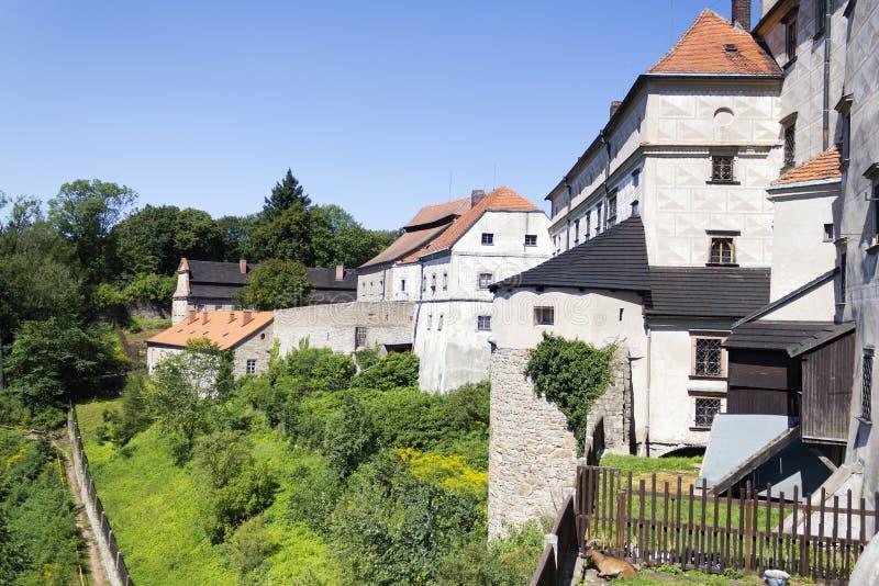 Castelo de Nachod na república checa fotografia de stock royalty free