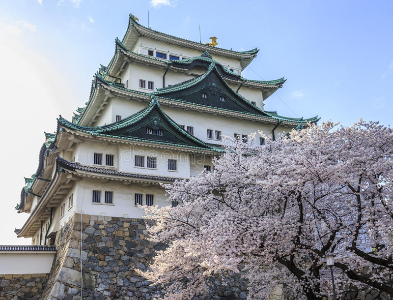 Castelo 2 de Nagoya imagens de stock