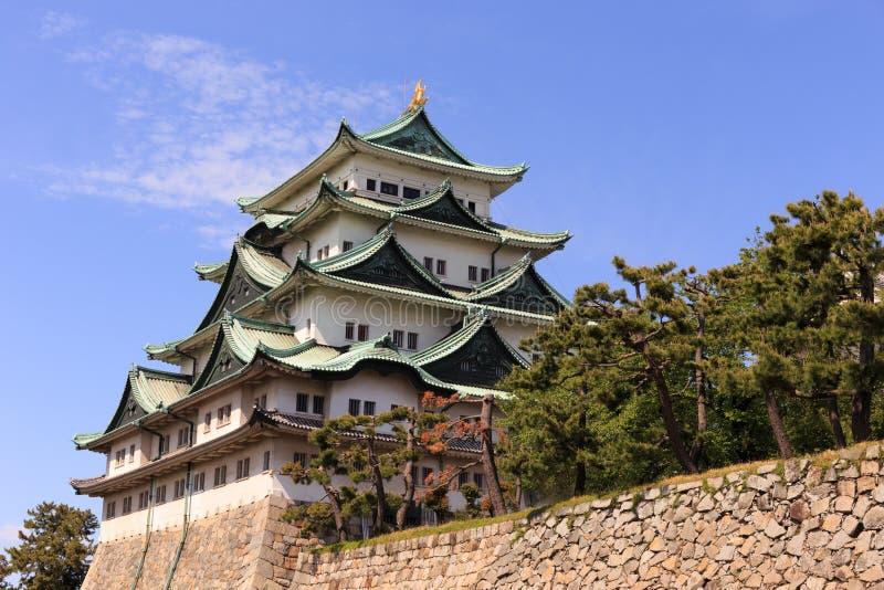 Castelo de Nagoya, Japão fotografia de stock