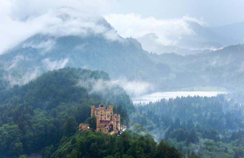 Castelo de Neuschwanstein em Baviera (Alemanha) fotografia de stock royalty free