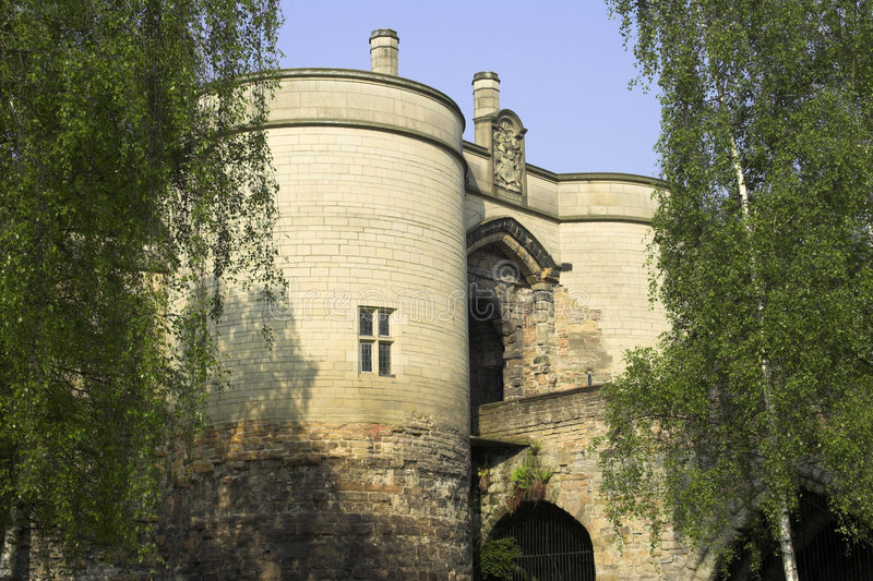 Castelo de Nottingham imagens de stock royalty free
