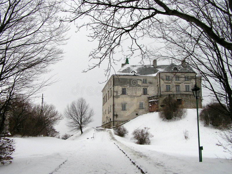 Castelo de Oleskiy imagem de stock royalty free