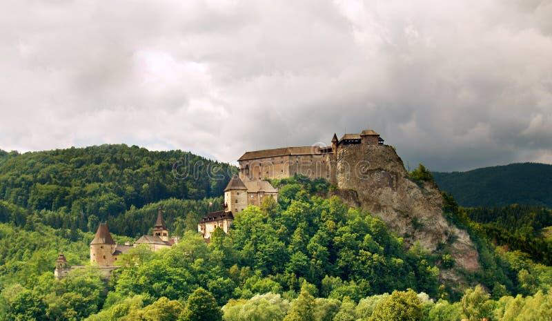 Castelo de Orava imagem de stock