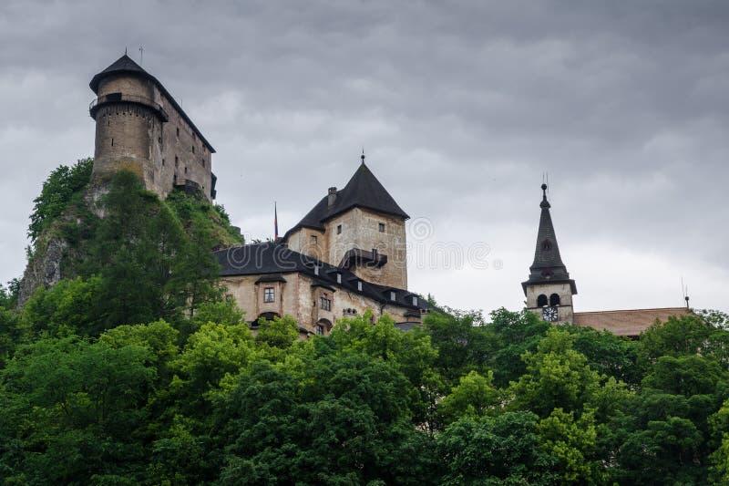 Castelo de Orava imagem de stock royalty free