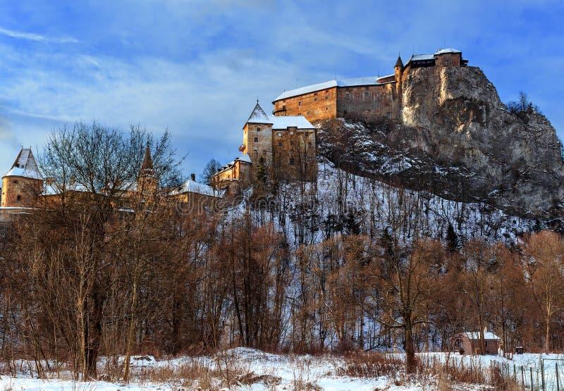 Castelo de Orava - Eslováquia fotos de stock royalty free