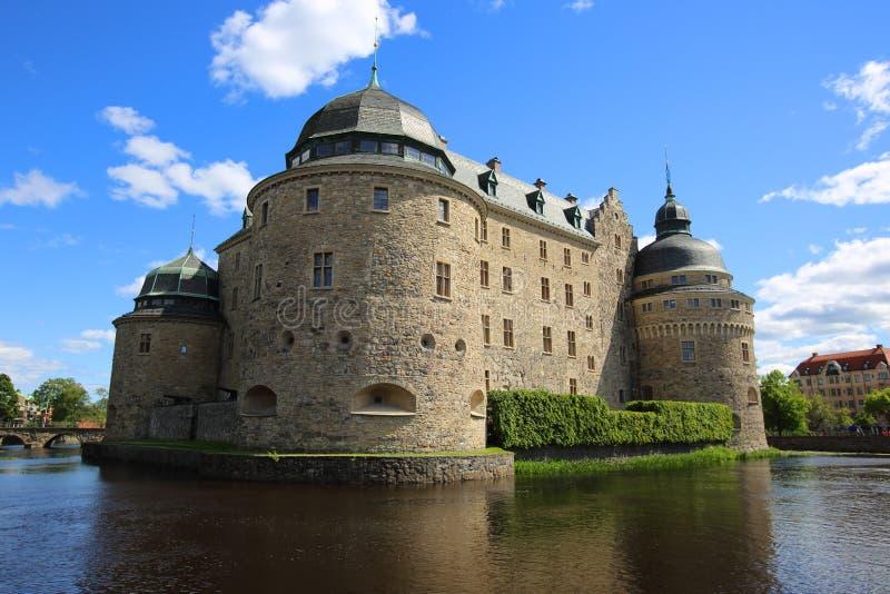 Castelo de Orebro foto de stock royalty free