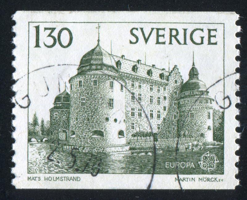 Castelo de Orebro imagens de stock royalty free