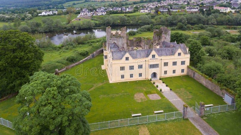 Castelo de Ormond Carrick-em-Suir Co tipperary ireland imagem de stock