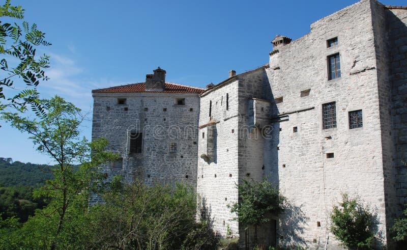 Castelo de Pazin fotografia de stock