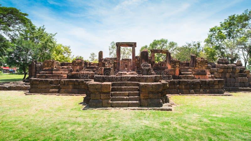 Castelo de pedra antigo, Tailândia imagem de stock royalty free
