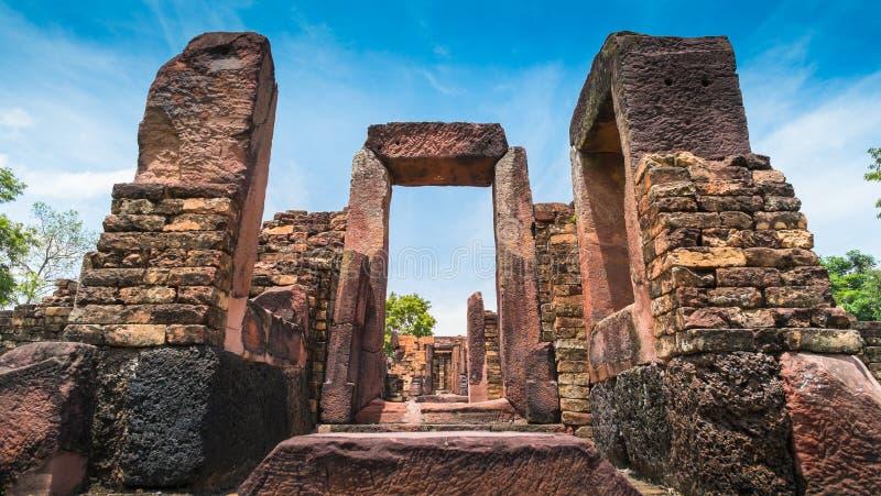 Castelo de pedra antigo, Tailândia foto de stock royalty free