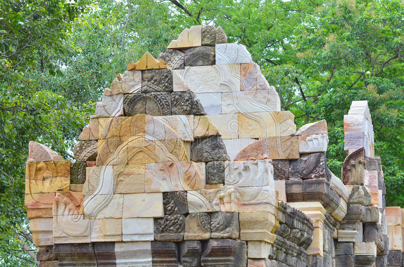 Castelo de pedra velho fotos de stock